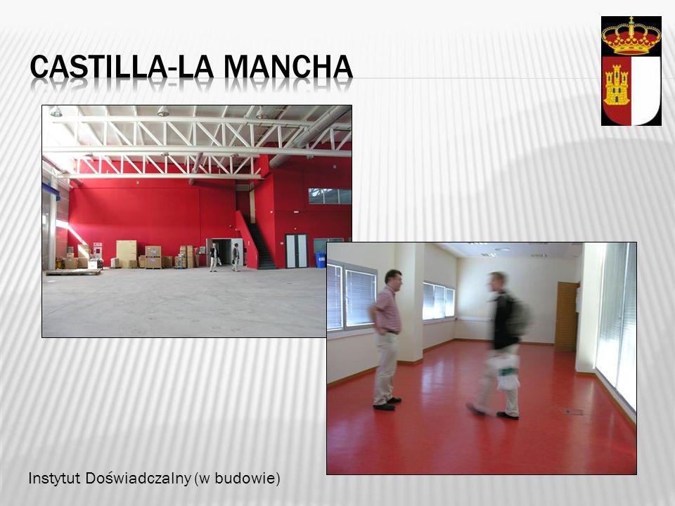Castilla-la mancha Instytut Doświadczalny (w budowie)