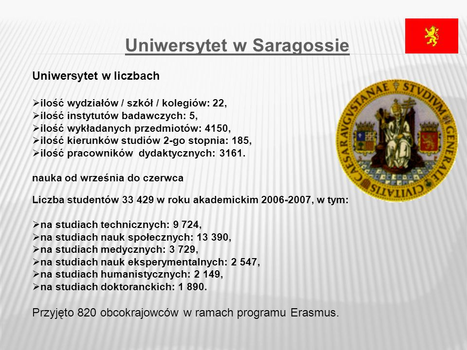 Uniwersytet w Saragossie