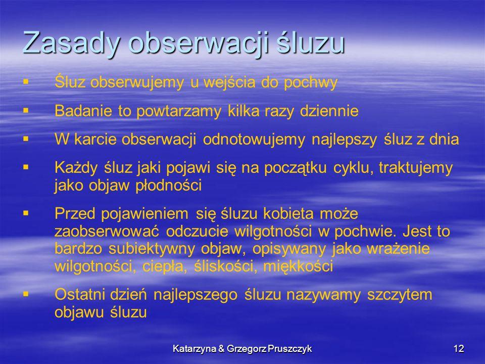Zasady obserwacji śluzu