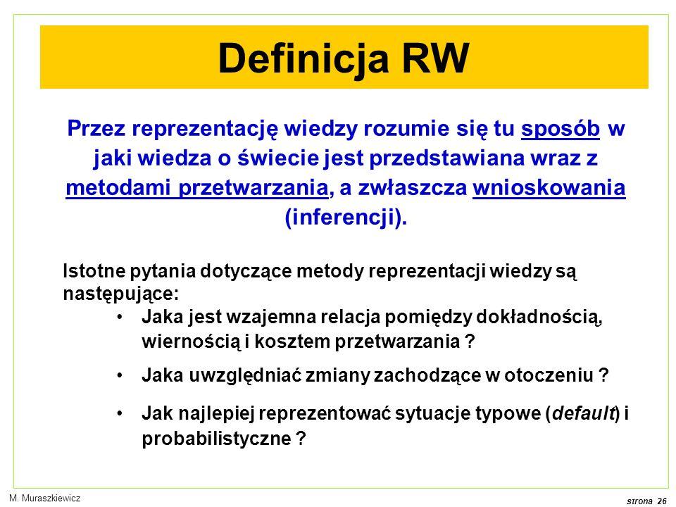 Definicja RW