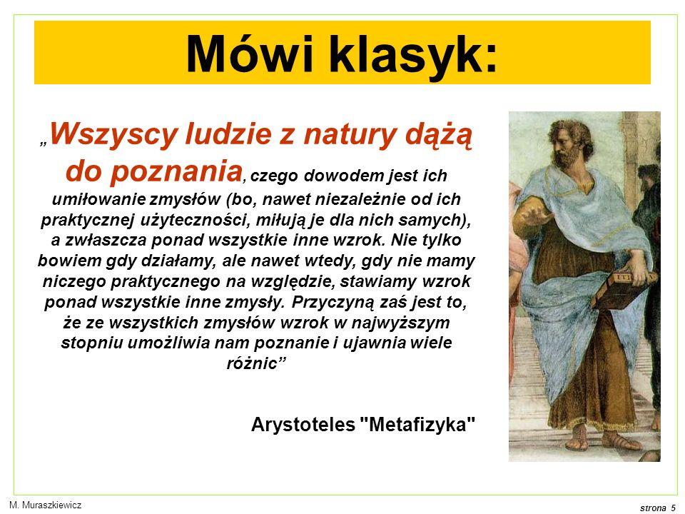 Mówi klasyk: Arystoteles Metafizyka