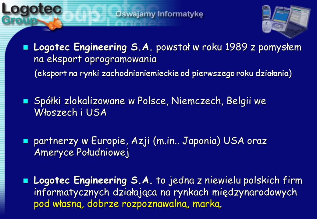 Logotec Engineering S. A