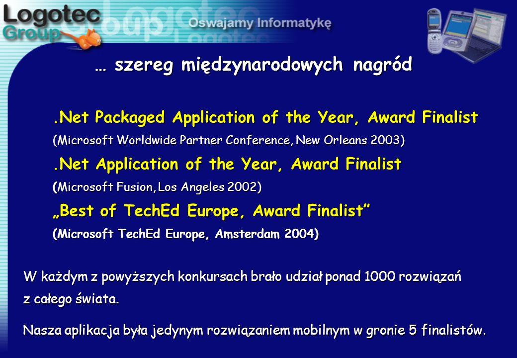 … szereg międzynarodowych nagród