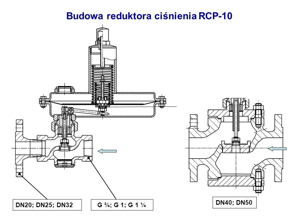 Budowa reduktora ciśnienia RCP-10