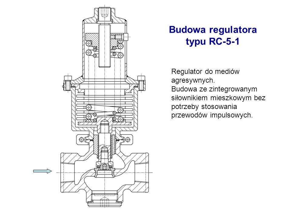 Budowa regulatora typu RC-5-1