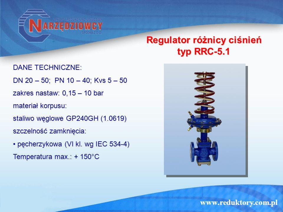 Regulator różnicy ciśnień typ RRC-5.1