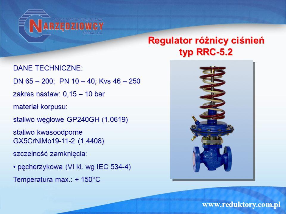 Regulator różnicy ciśnień typ RRC-5.2