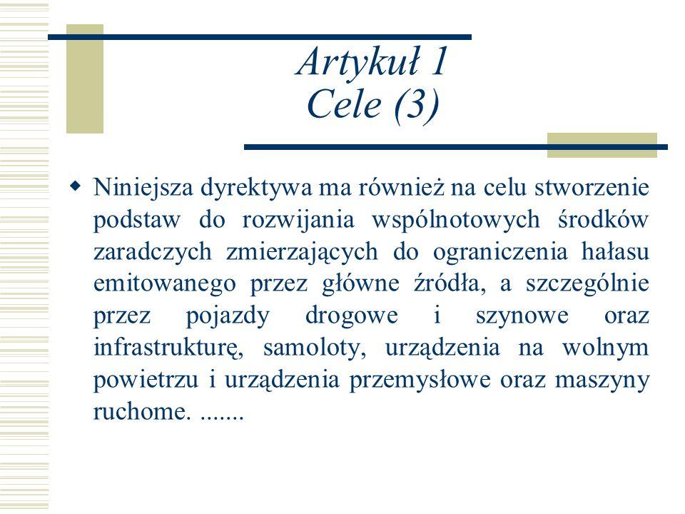 Artykuł 1 Cele (3)
