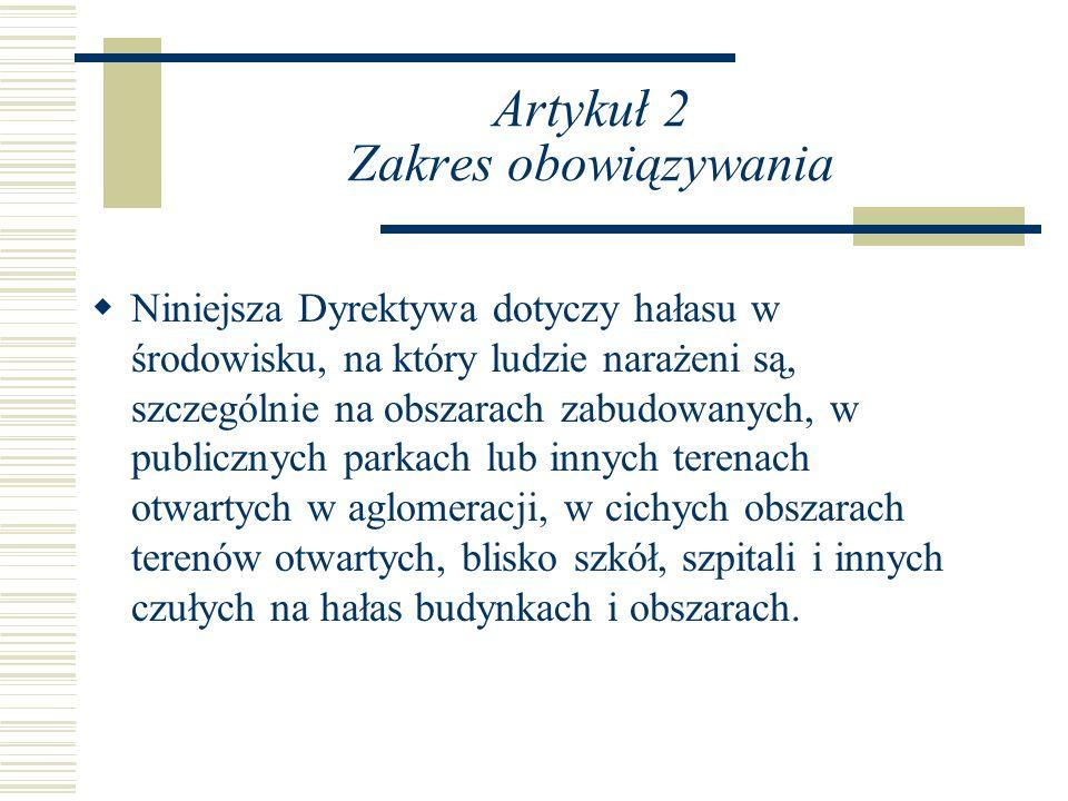 Artykuł 2 Zakres obowiązywania