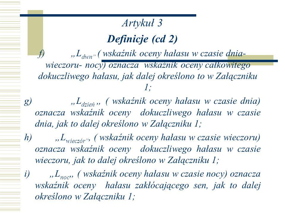 Artykuł 3 Definicje (cd 2)