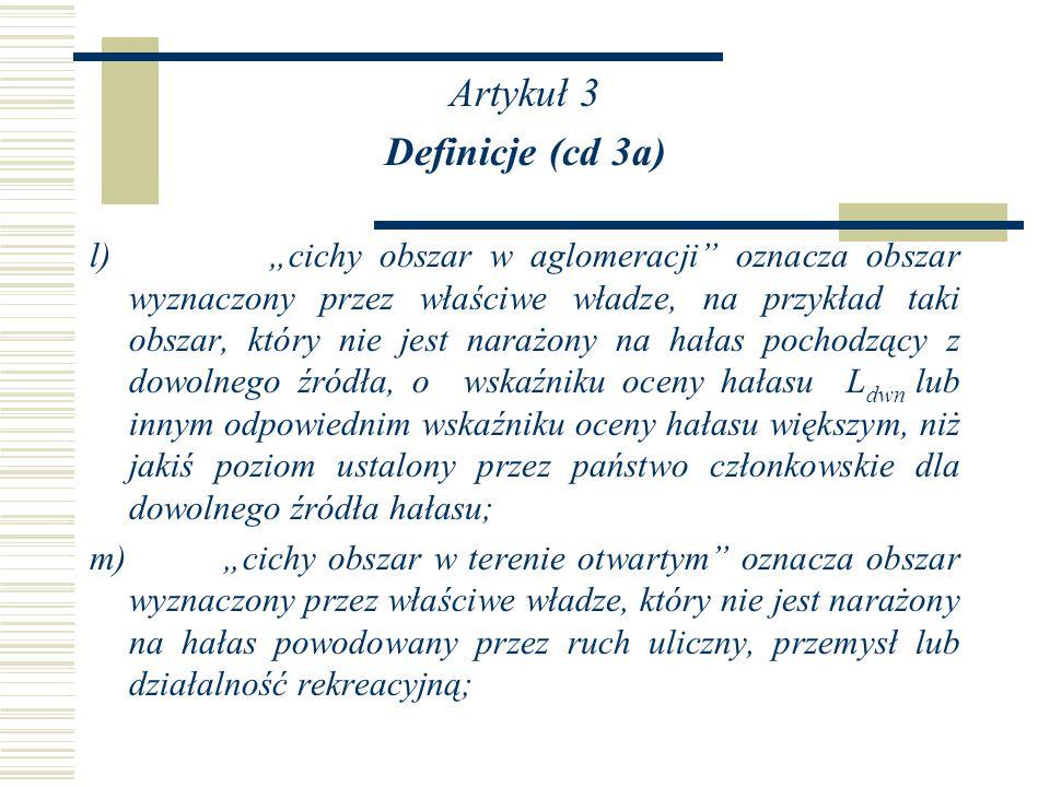 Artykuł 3 Definicje (cd 3a)