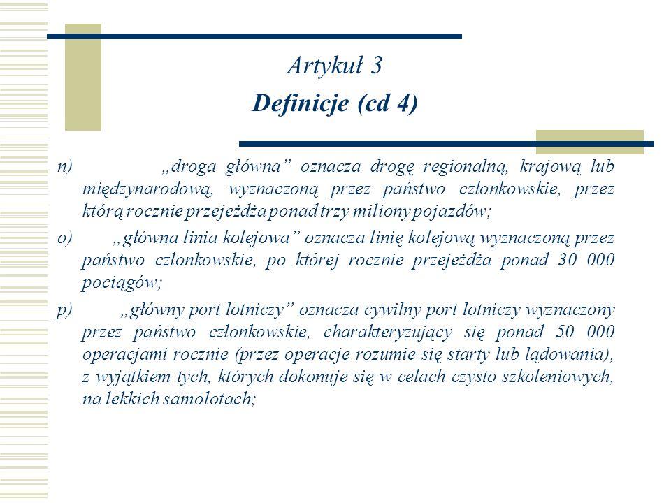 Artykuł 3 Definicje (cd 4)