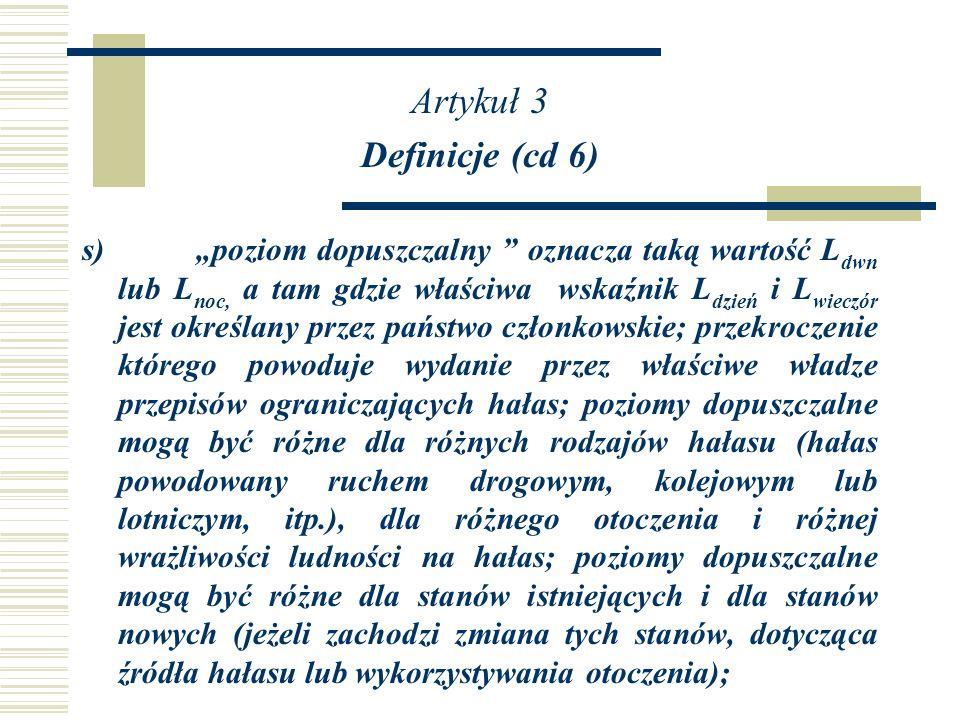 Artykuł 3 Definicje (cd 6)