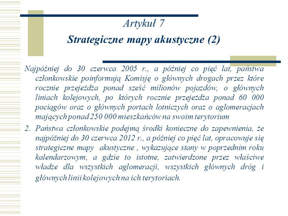 Strategiczne mapy akustyczne (2)