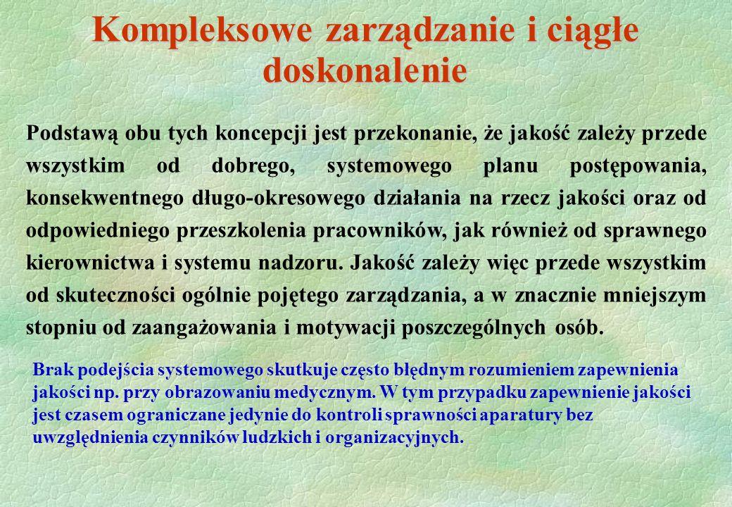 Kompleksowe zarządzanie i ciągłe doskonalenie