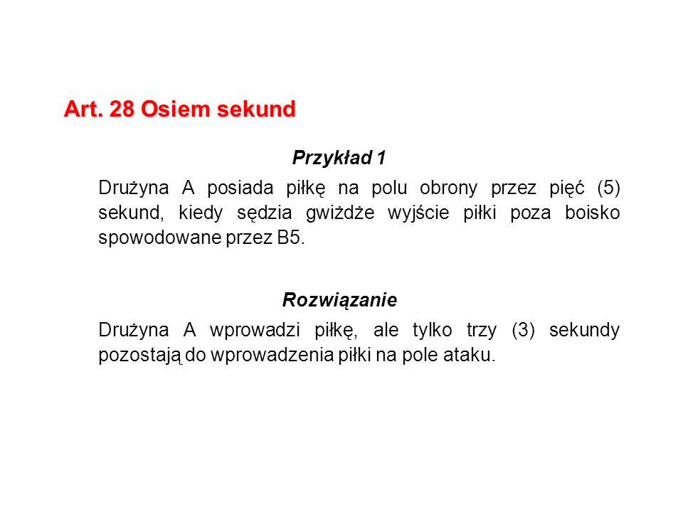 Art. 28 Osiem sekund Przykład 1