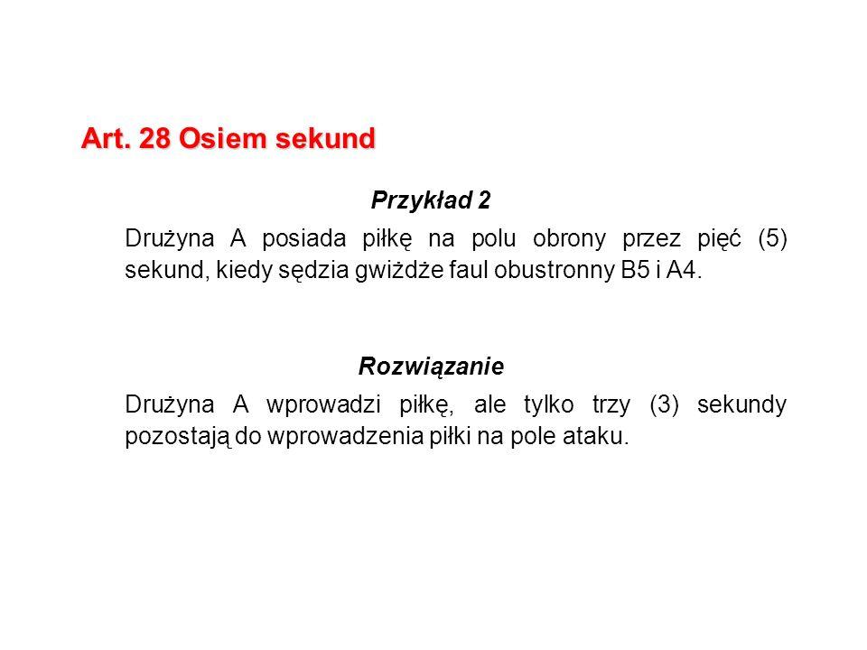 Art. 28 Osiem sekund Przykład 2
