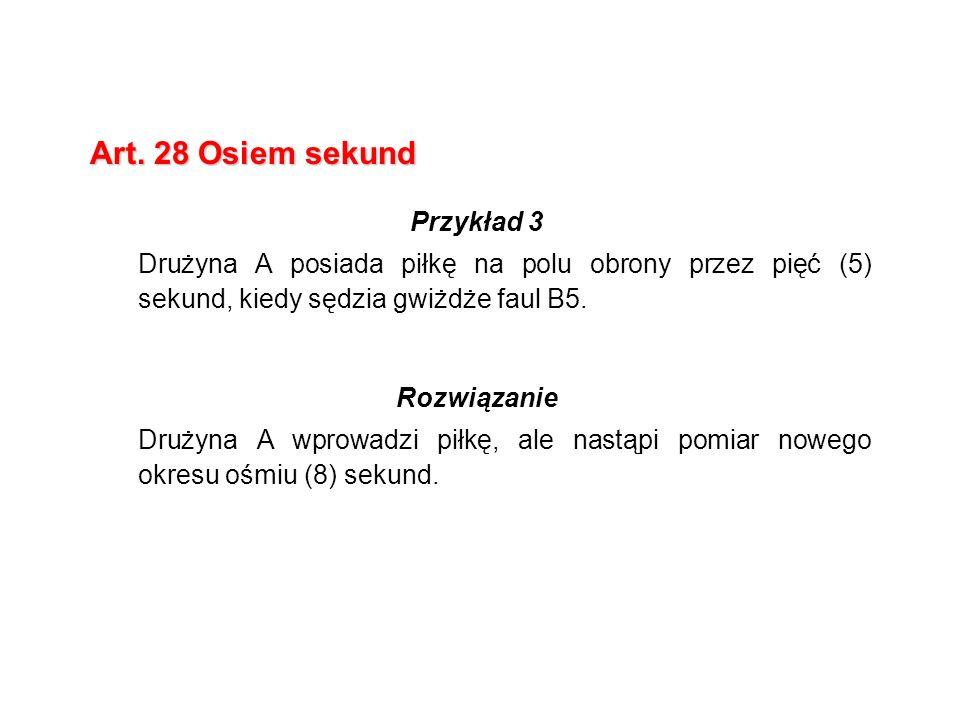 Art. 28 Osiem sekund Przykład 3