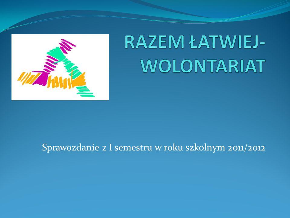 RAZEM ŁATWIEJ-WOLONTARIAT