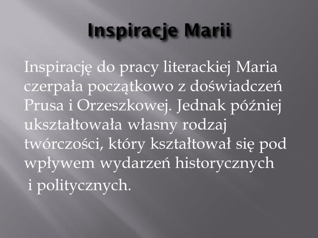 Inspiracje Marii