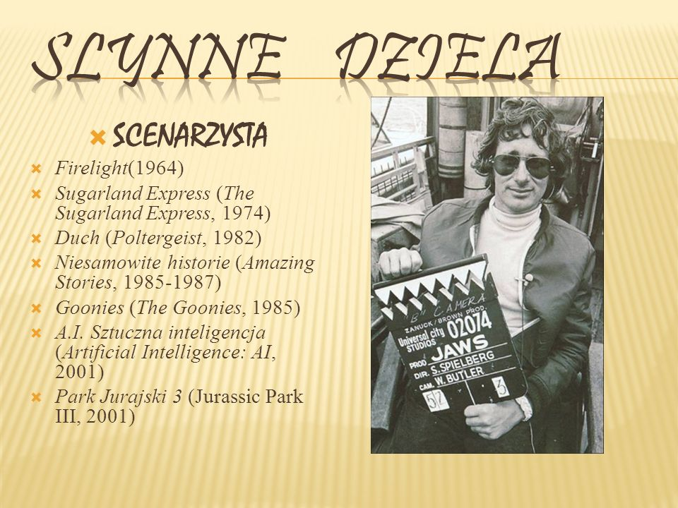 Slynne dziela SCENARZYSTA Firelight(1964)