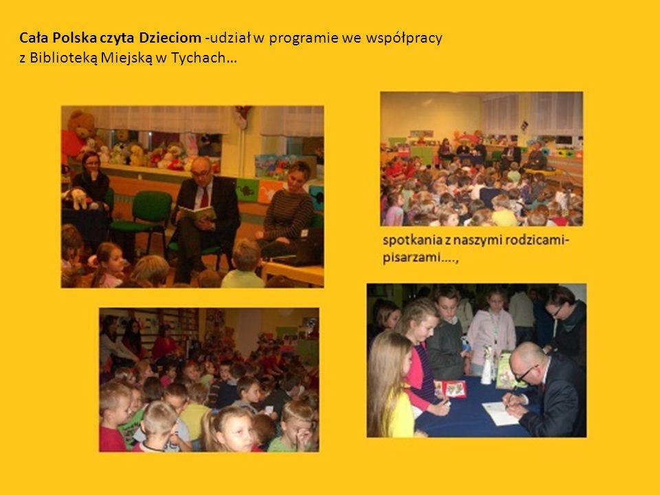 Cała Polska czyta Dzieciom -udział w programie we współpracy