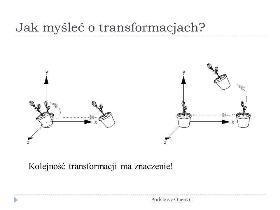 Jak myśleć o transformacjach