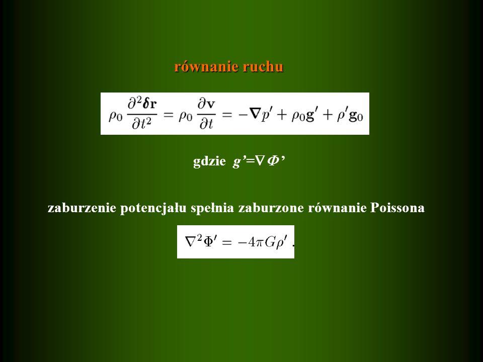 równanie ruchu gdzie g'= '