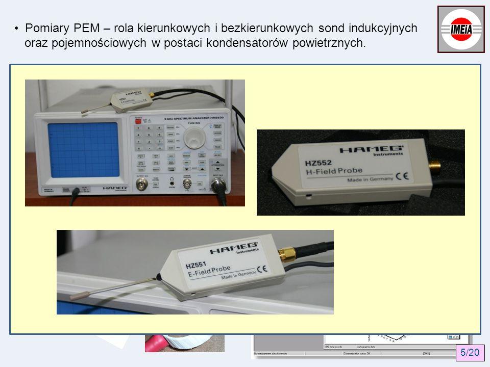 Przykłady przyrządów pomiarowych: