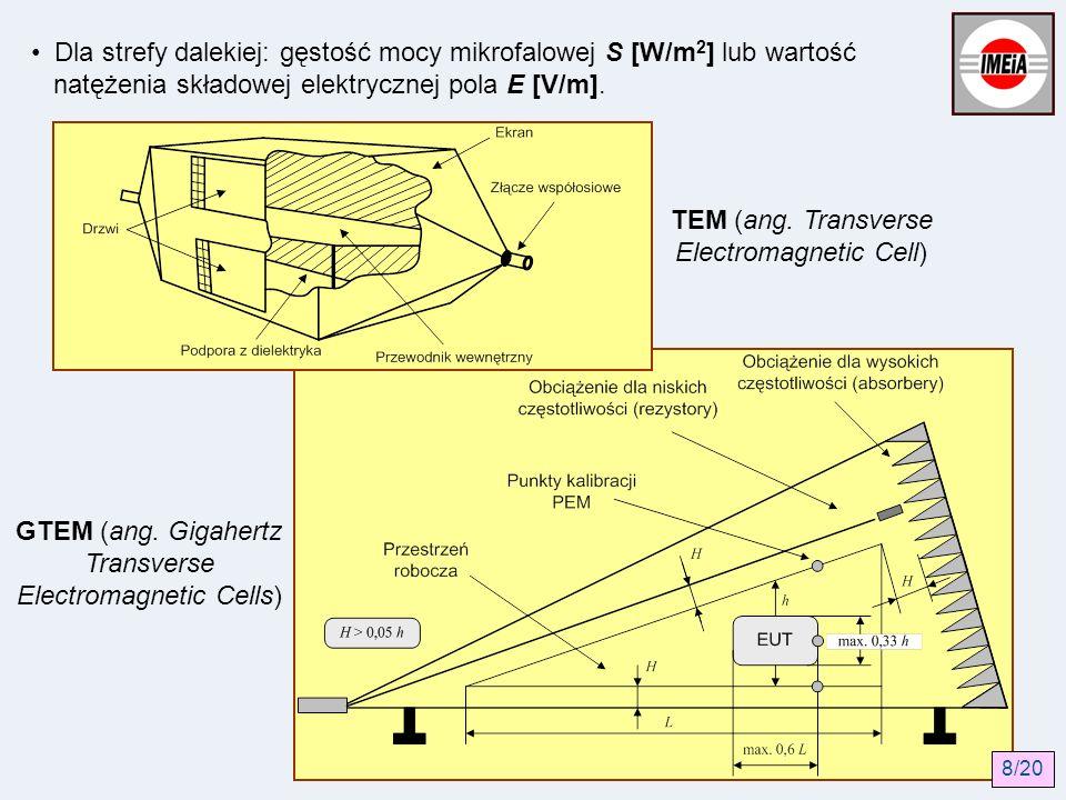 TEM (ang. Transverse Electromagnetic Cell)