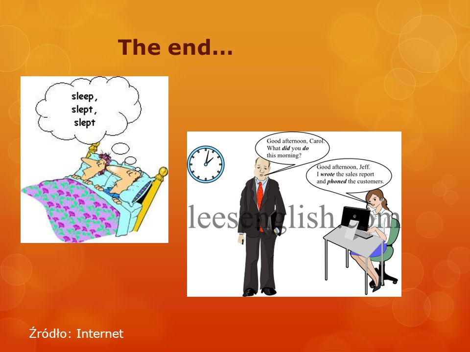 The end… Źródło: Internet