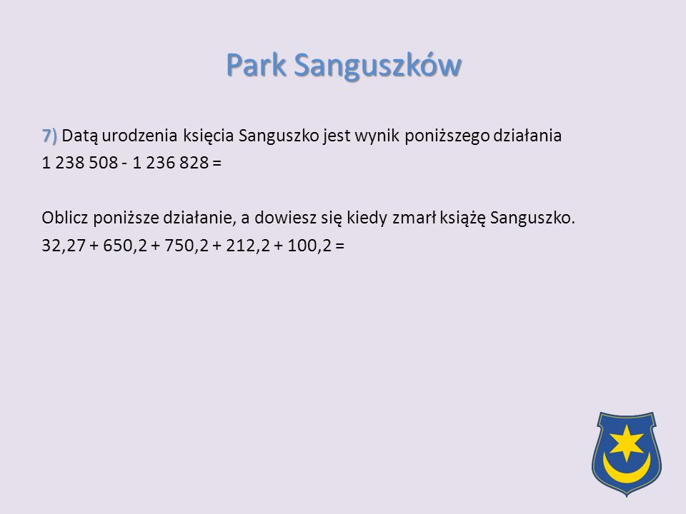 Park Sanguszków