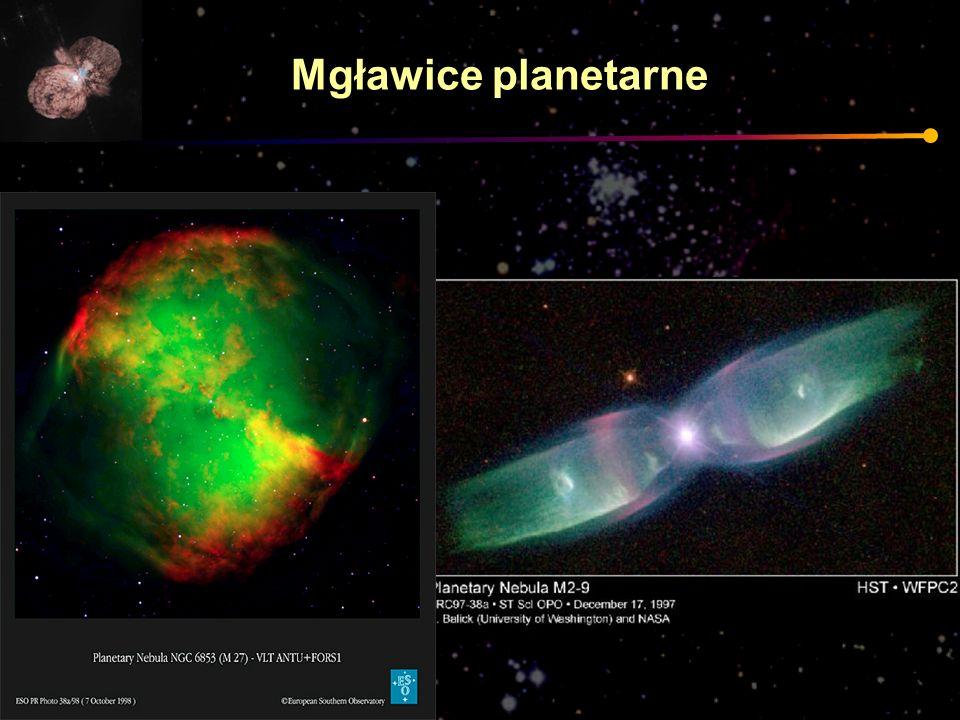 Mgławice planetarne