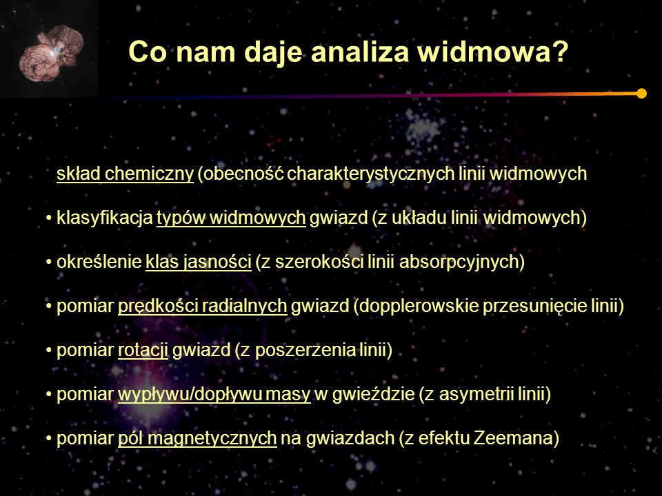 Co nam daje analiza widmowa