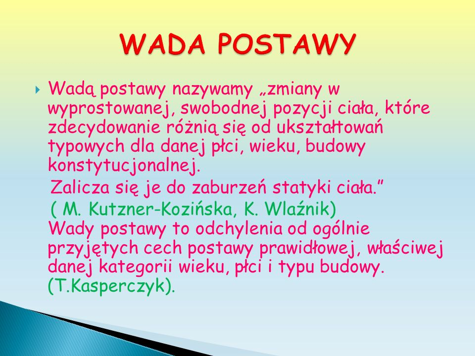 WADA POSTAWY
