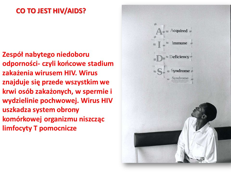 CO TO JEST HIV/AIDS