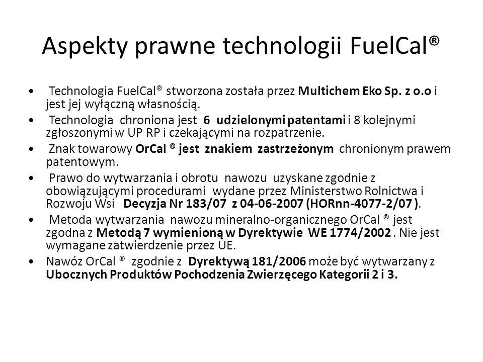 Aspekty prawne technologii FuelCal®