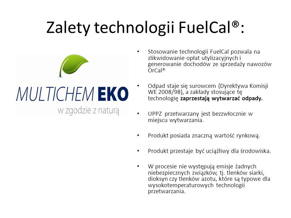 Zalety technologii FuelCal®: