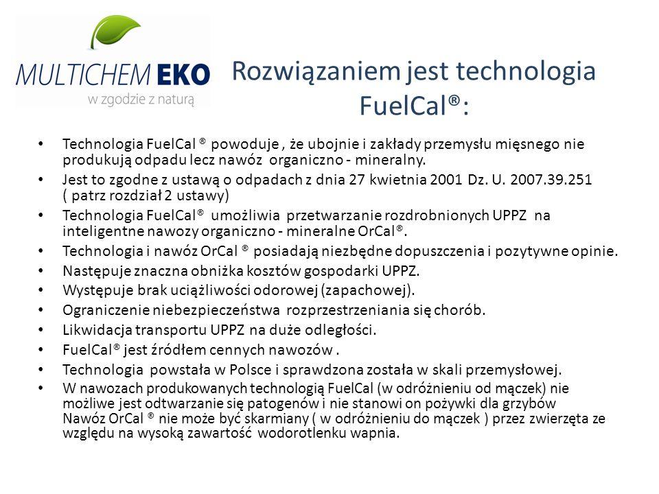 Rozwiązaniem jest technologia FuelCal®: