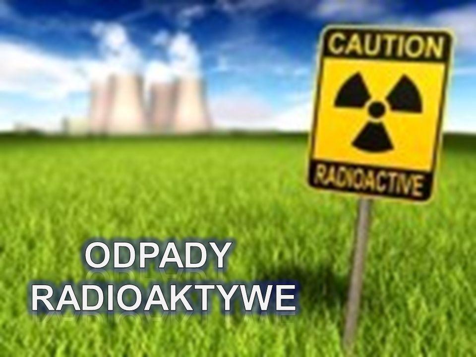 ODPADY RADIOAKTYWE