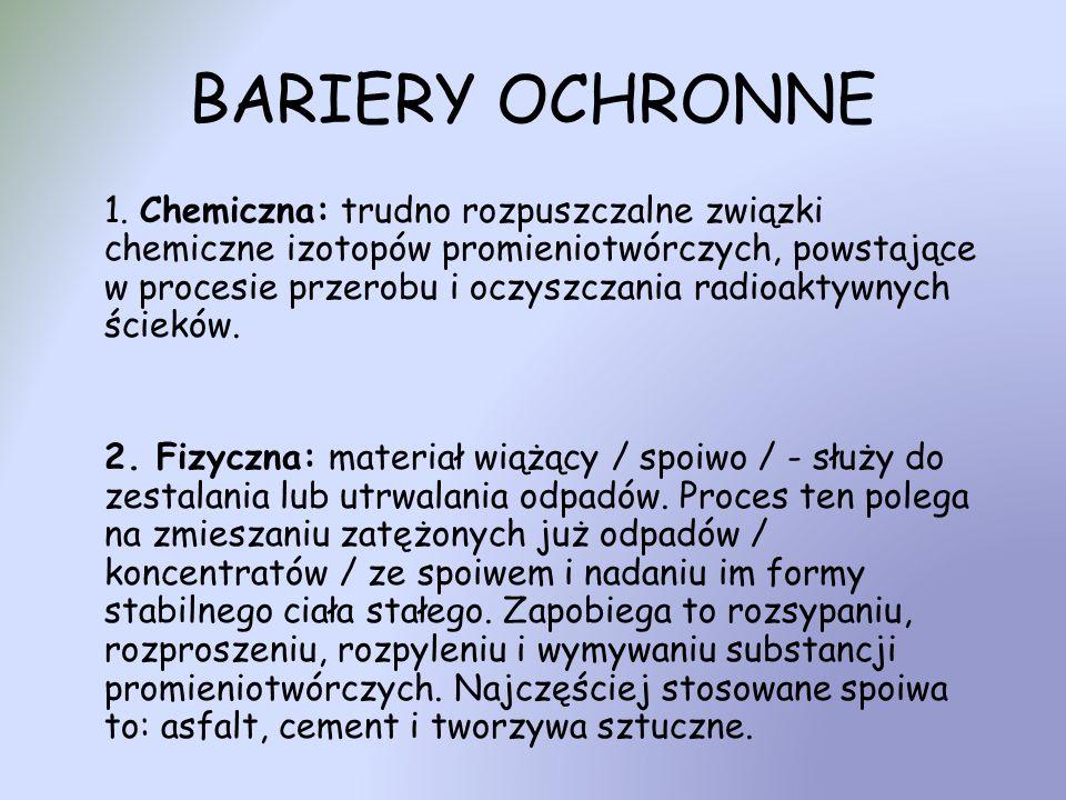 BARIERY OCHRONNE