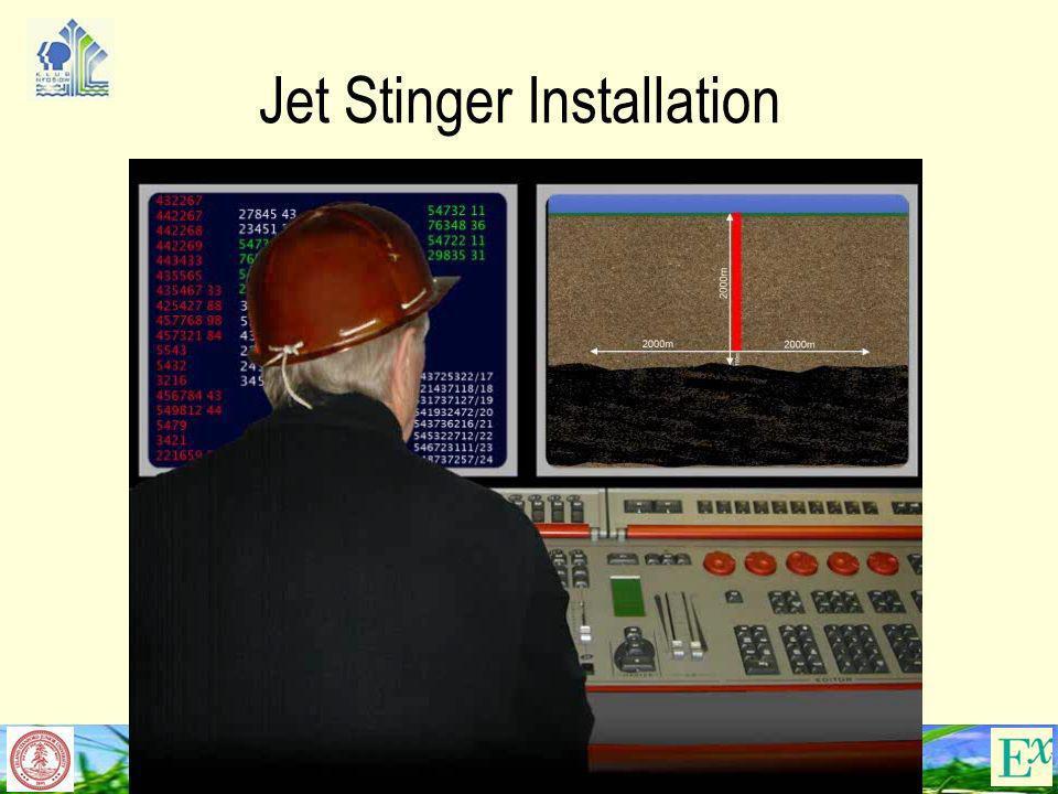 Jet Stinger Installation