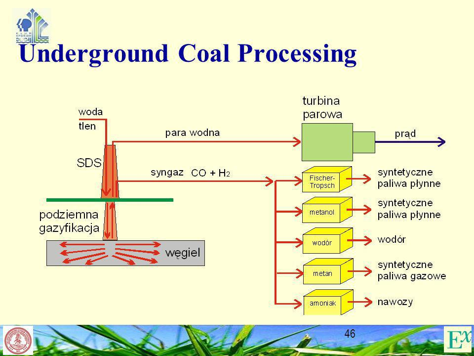 Underground Coal Processing