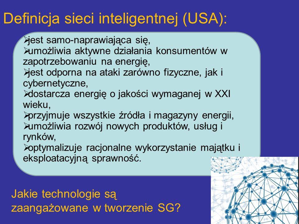 Definicja sieci inteligentnej (USA):