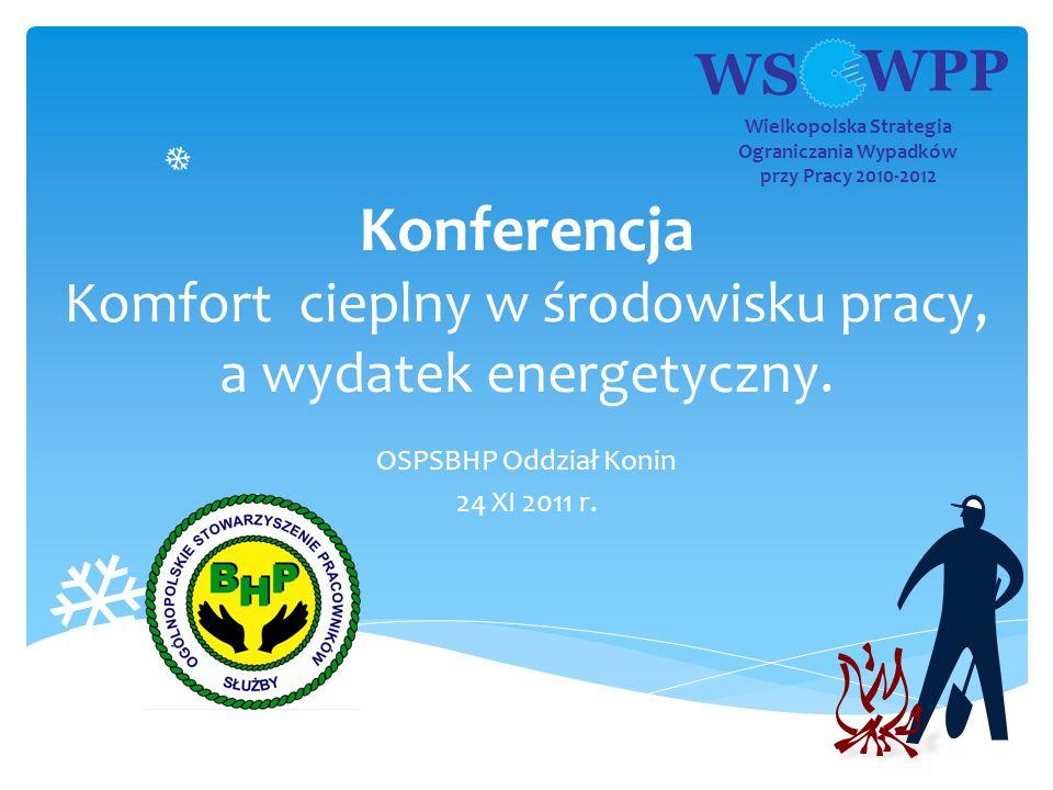 OSPSBHP Oddział Konin 24 XI 2011 r.
