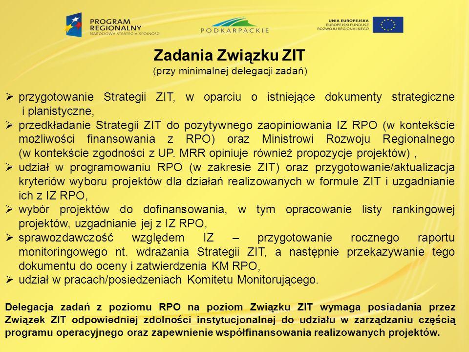 (przy minimalnej delegacji zadań)