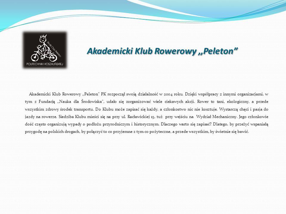 Akademicki Klub Rowerowy ,,Peleton