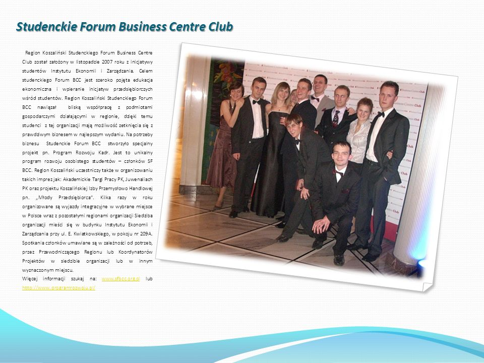 Studenckie Forum Business Centre Club