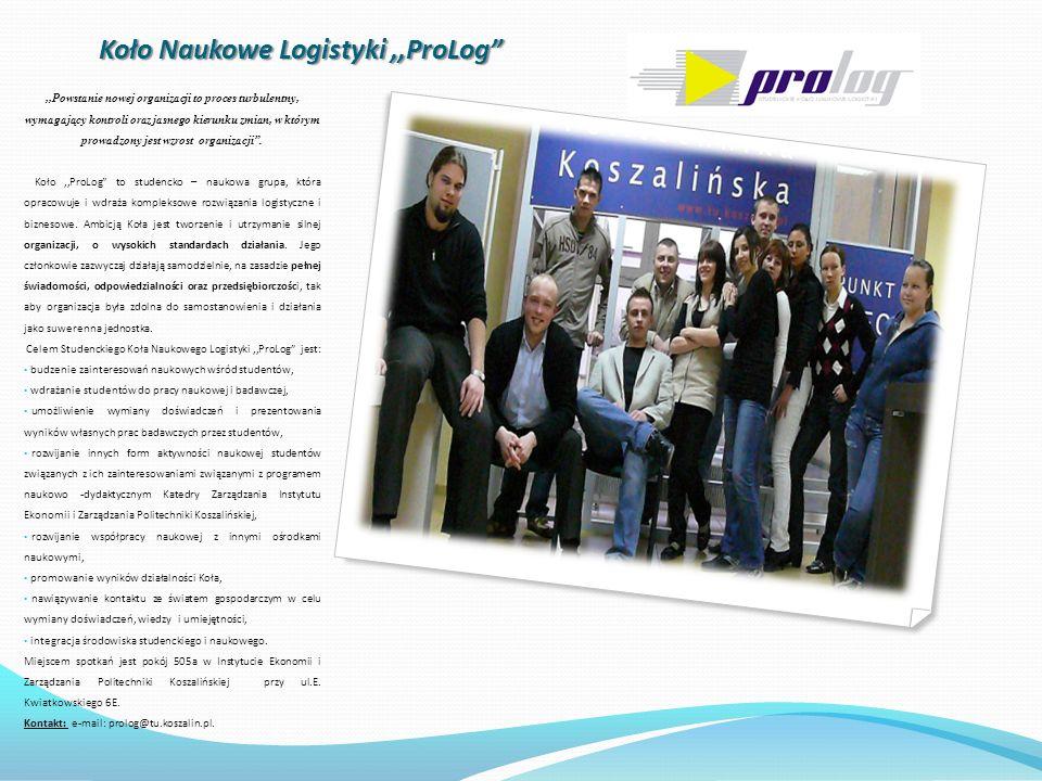 Koło Naukowe Logistyki ,,ProLog