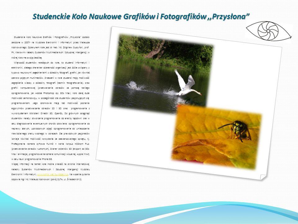 Studenckie Koło Naukowe Grafików i Fotografików ,,Przysłona